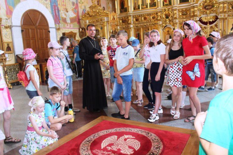 Экскурсия в Благовещенском кафедральном соборе. Иерей Малов Алексей